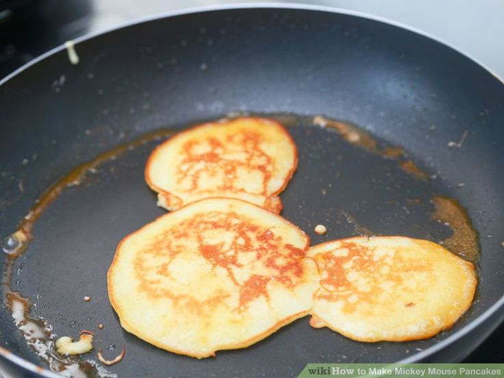 How to Make Mickey Mouse Pancakes: 13 Steps (with Pictures)