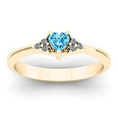 Purity Ring ----- Very pretty but $244 for this ring is a little too much in my opinion. CUSTOMIZABLE! You can customize it & the price will change. Choose band color, heart birthstone (genuine or simulated), & either real diamonds or simulated