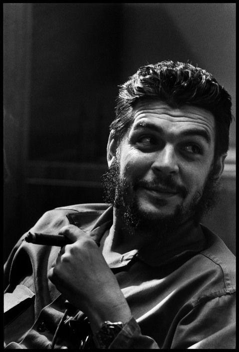 Elliott Erwitt  CUBA. Havana. 1964. Che GUEVARA.