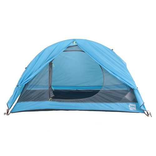 Naturehike Double Layer 1 Single Person 3 Season Aluminum Rod Outdoor Camping Tent Aluminum Poles Tent