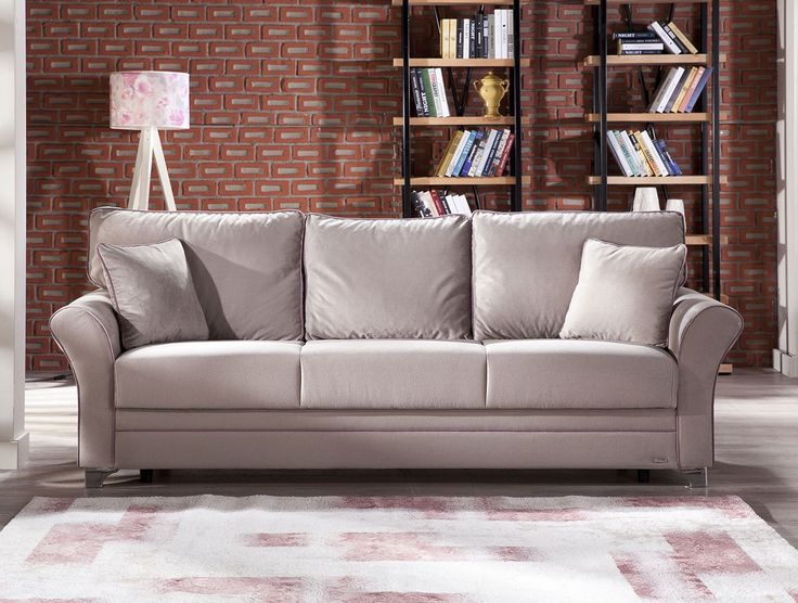 High Quality Padova Sofa Bed In Paris Gray By Istikbal