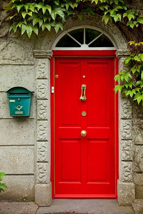Style Decor Color Red Door I Have Always Wanted My Front Of House To Be Because It Home Ideas Organize Decorate Build
