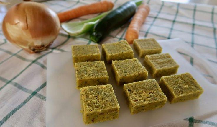 DADO VEGETALE FATTO IN CASA Ricetta Facile - Homemade Veggie Stock Cubes Easy Recipe   Fatto in casa da Benedetta