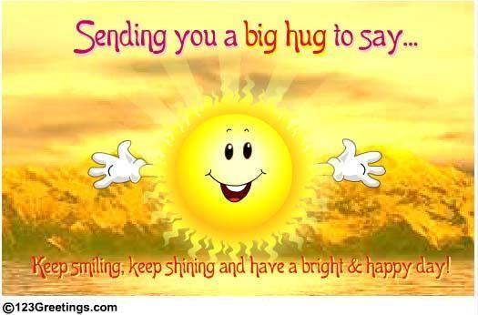 Keep Smiling And Shining... #cute #hug