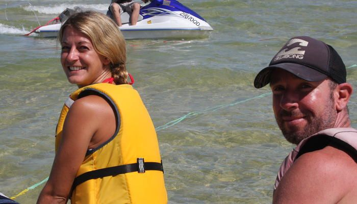 Tangatours: Banana Boat / Double Tube / Wake Board family friendly vacations. #children #travel #ecotourism #Queensland #Australia