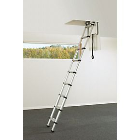 Order online at Screwfix.com. Aluminium construction. Simple to install. Easy operation with telescopic retraction and automatic locking function. Simple and safe folding system. Extremely compact and safe to climb with zero loft space required. Can be used in the tight of spaces. FREE next day delivery available, free collection in 5 minutes.