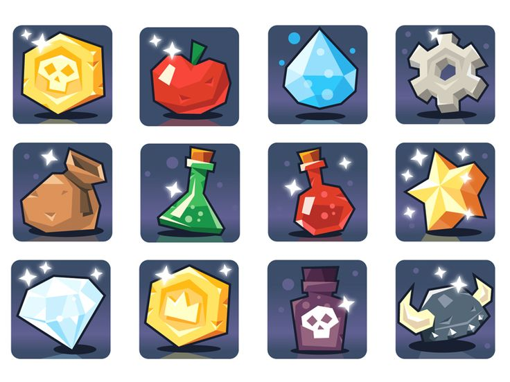 Hi!some items for my mobile game project!