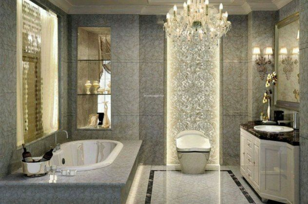 15 πολυτελή μπάνια με πολυελαίους ή led, κρυφούς φωτισμούς & κέφι για να κοιμηθείτε εδώ | eirinika.gr