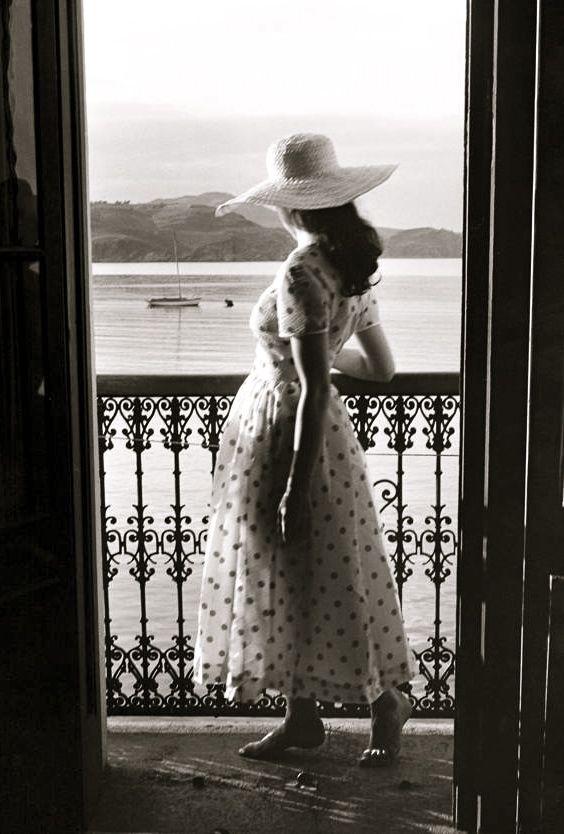 Collioure 1954  Photo: Edouard Boubat