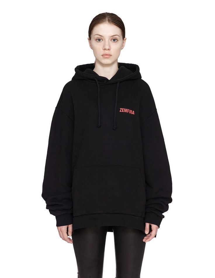 'Zemfira' cotton hoodie by Vetements — SVMoscow