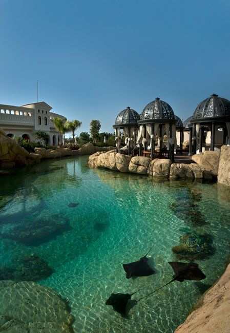Swim Reef at the Mardan Palace Hotel, Antalya, Turkey