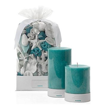 Mothers' Day gift idea. The potpourri would look great in my mom's florida style bedroom.
