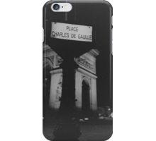 Place Charles de Gaulle Arc de Triomphe Paris Champs Elysees Lomo LCA lomographic analog film photograph 35mm iPhone Case/Skin