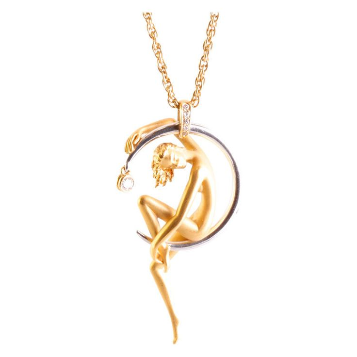 CARRERA Y CARRERA Diamond  Gold Necklace