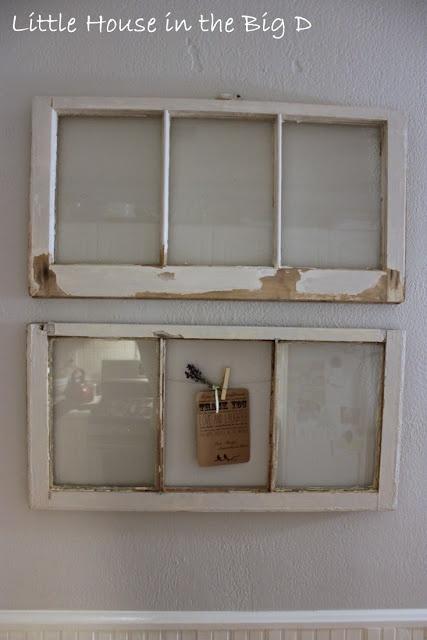 Window Panes turned Kitchen Art