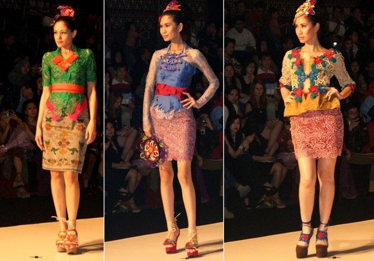 kebaya fashion | KEBAYA BALI MODIF: Tampil di Indonesia Fashion Week - Indonesian ...