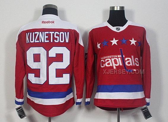 http://www.xjersey.com/capitals-92-evgeny-kuznetsov-red-reebok-jersey.html CAPITALS 92 EVGENY KUZNETSOV RED REEBOK JERSEY Only $50.00 , Free Shipping!