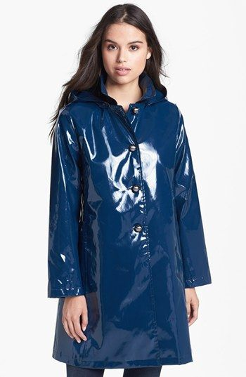 Jane Post 'Princess' Rain Slicker with Detachable Hood available at #Nordstrom