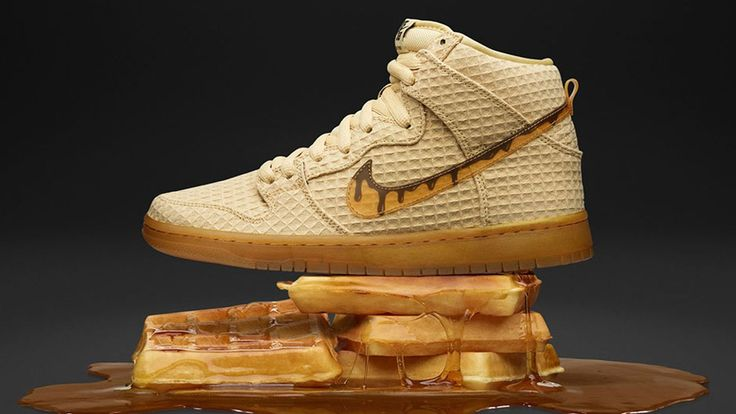 Nike Unleashes New Chicken and Waffles-Themed Sneaker - Eater