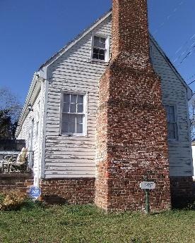 THE TENNANT HOUSE, ca. 1760,Caroline County, VA