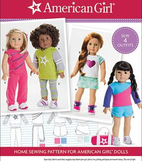 Simplicity Patterns Us8042Os-Simplicity American Girl Doll Clothes For 18 Doll-One Size