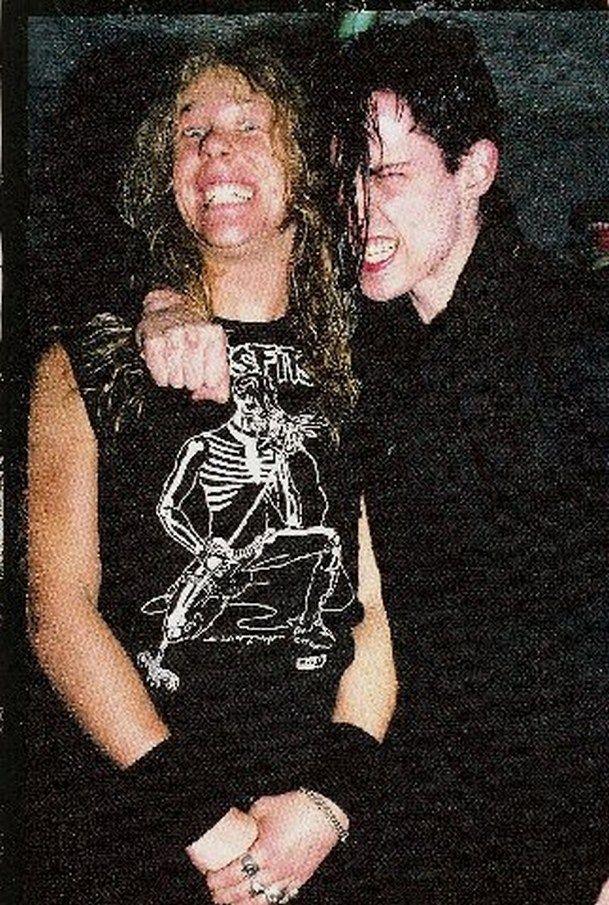 jaymz and Glenn Danzig