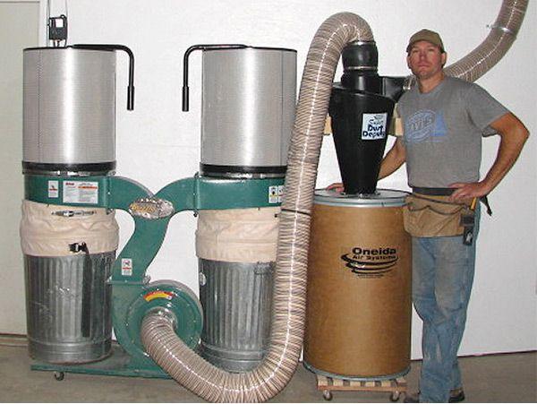 Custom Super Dust Deputy Setup Dave Eilers Wood Shop