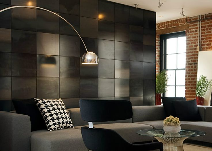 Contemporary and sophisticated lighting design of bachelor for Bachelor pad interior design pictures