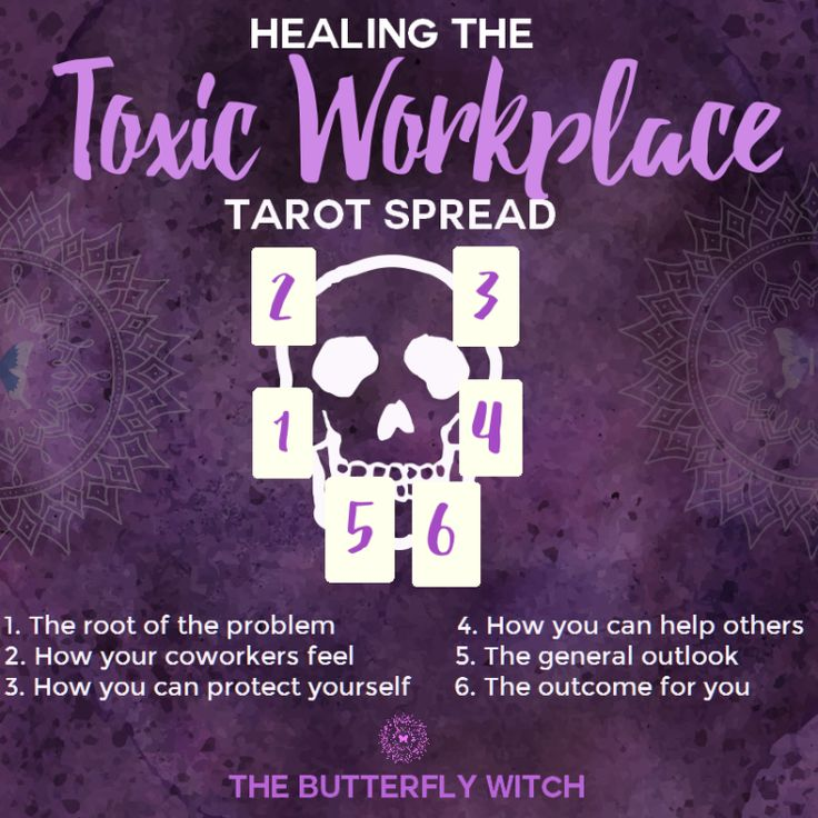 The Butterfly Witch - #Healing the Toxic Workplace #Tarot spread!