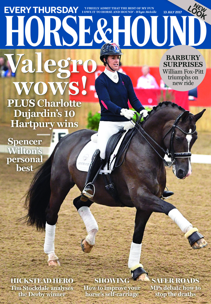 The latest issue of Horse & Hound is out now! Don't miss the 13 July issue, on sale now. Find out what's inside: http://www.horseandhound.co.uk/publication/horse-and-hound-magazine/horse-hound-13-july-2017