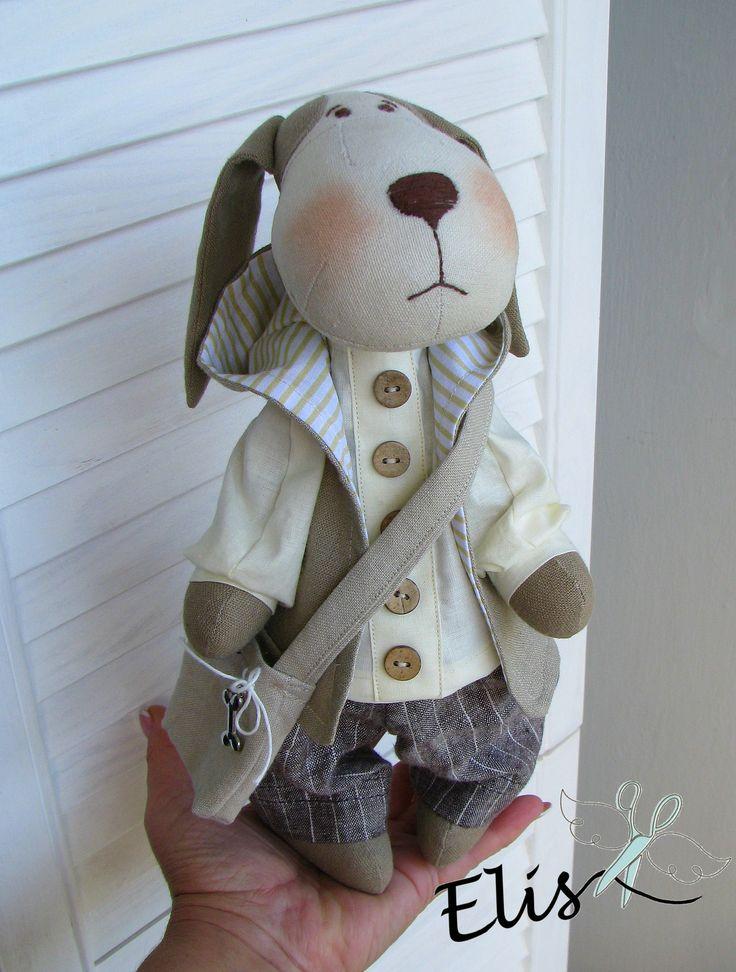http://polandhandmade.pl   #polandhandmade , #doll , #dog