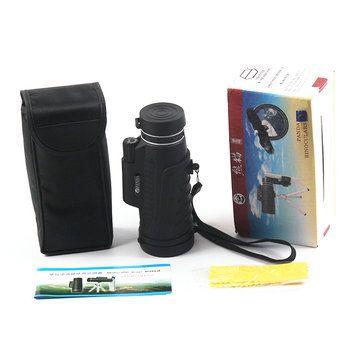 PANDA 20X60 HD BAK4 Monocular Clear Night Vision Optic Lens Telescope With Tripod Outdoor Travel Sale - Banggood.com