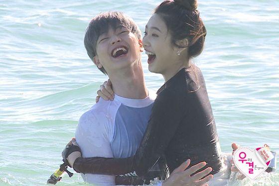 160123 MBC We Got Married Ep30 (Preview) - Red Velvet's Joy & BTOB's Sungjae at Hainan Island
