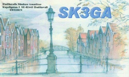 Om SK3GA - SK3GA - Hudiksvalls Sändareamatörer