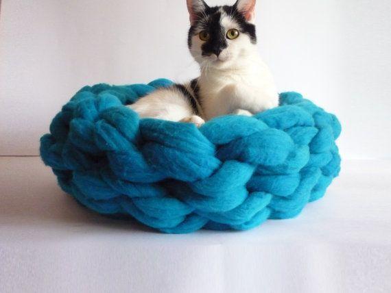 Oversized Merino Wool Scarf - Galaxy Cat Merino Wool XL by VIDA VIDA nJPsbq6c8