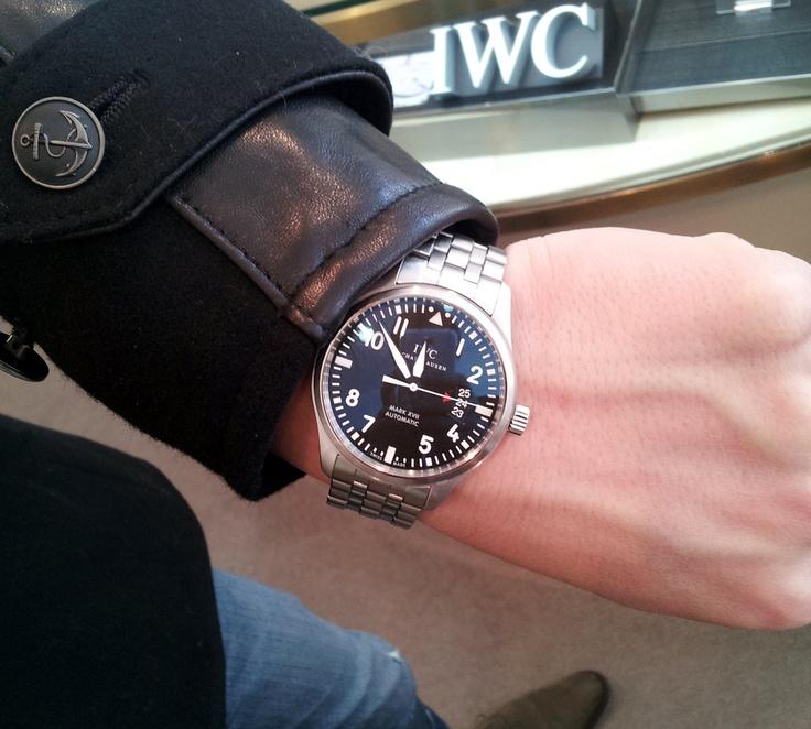 【IWC - パイロット・ウォッチ・ マーク XVII】 ★I・W様 ★理由/とにかくカッコイイ。自分をアゲてくれる最高の時計です!