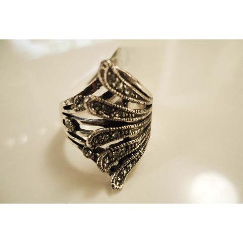 Ring - Marcasite Sweep