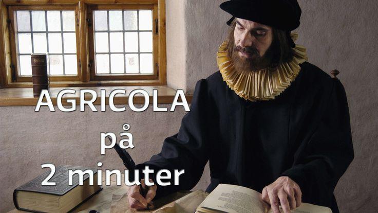 Mikael Agricola skapade det finska skriftspråket och lade grunden för den finskspråkiga litteraturen.Han var också rektor, biskop och…