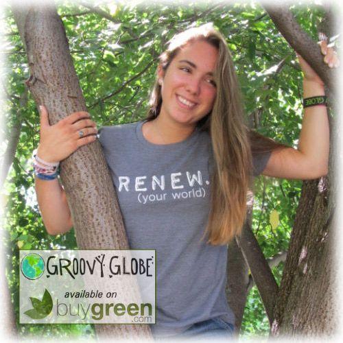 Groovy Globe RENEW Women's Statement Tees