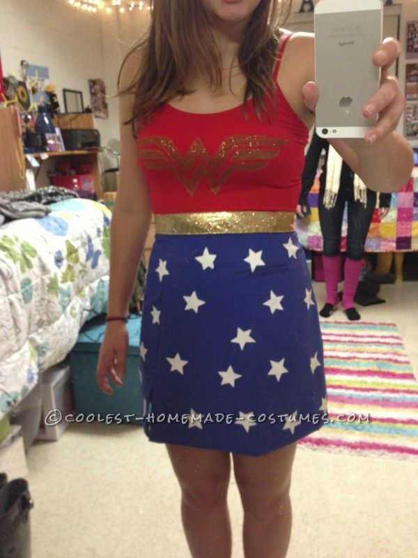 Real wonder woman outfit-1997