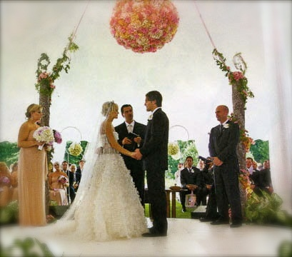 My dream wedding<3 Carrie Underwood's dress is exactly what I want!