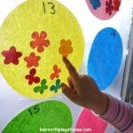 Ways to use Contact Paper for learning! Super sticky backed plastic crafts!