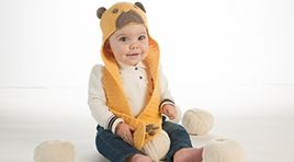 teddy bear hat in cashmere and lambswool