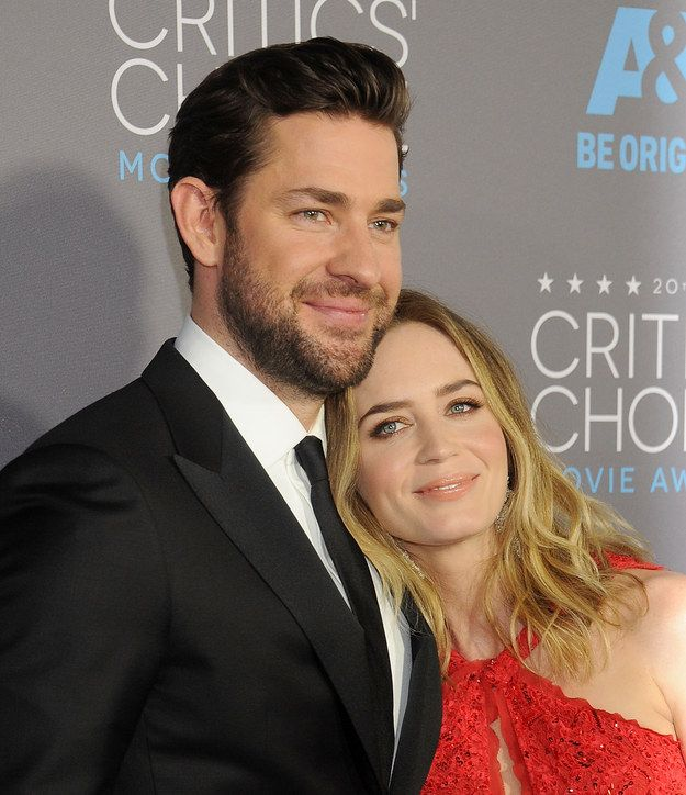 And this nuzzle. | 19 Photos Of Emily Blunt And John Krasinski That Will Make You Believe In Love Again