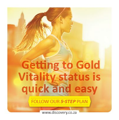 5 Steps to Gold status.