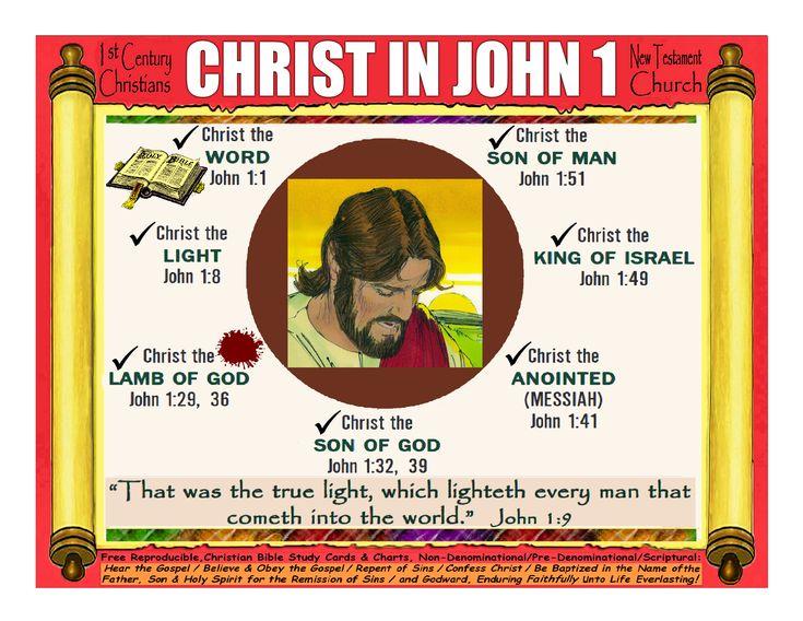 Christ in john 1 in 2020 christian bible study bible