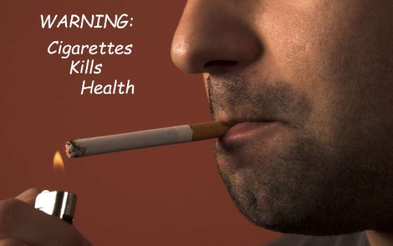 Cigarettes Warnings: People might give up