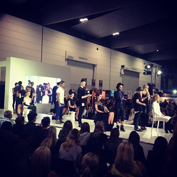 The Joey Scandizzo Salon team on the Salon Melbourne stage