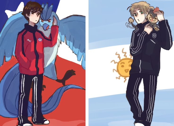 CHILE : ARGENTINA #POKEMON #CROSSOVER