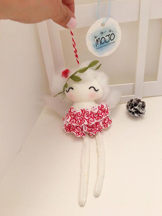 Christmas gift / ornament / handmade doll / fairy doll / tiny